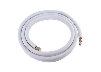 China PE Insulated 1 4 Copper Refrigeration Tubing Fire Resistance Ac Copper Pipe factory