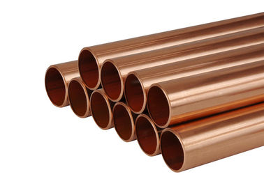 "China Hard Type Straight Copper Refrigeration Tubing For Air Conditioner 3/8""-8 1/8"" OD factory"