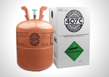 China Colorless Mixed Air Conditioner Refrigerant R407C Refrigerant Gas No Turbid factory