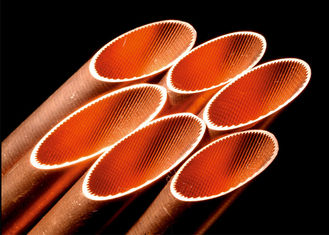 China 5mm LWC ACR Refrigeration Tubing , Inner Grooved Copper Tube ASTM B280 EN12735 factory