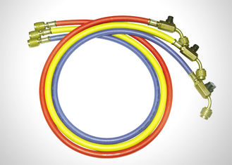 Multi Color Other Products High Pressure R410a Refrigerant Hoses With Ball Valves