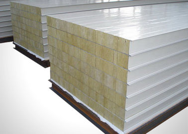 China Thermal Resistance Polyurethane Sandwich Panels Waterproof Light Weight factory