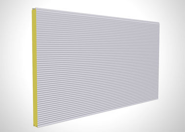 Structural Polyurethane Foam Sandwich Panels , Polyurethane Cold Room Panels