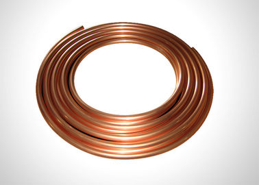 China 3 16 Copper Refrigeration Tubing C1220 SF-Cu C12000 Material Anti Corrosion factory