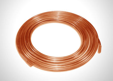 China 1 4 Inch Copper Refrigeration Tubing Coil 6.35mm Outer Diameter Easy To Braze factory