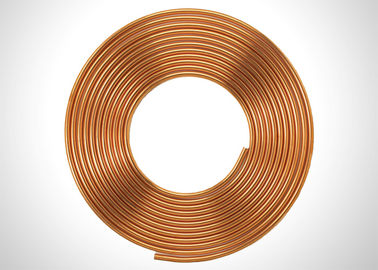 China C1220 SF-Cu C12000 3 4 Copper Refrigeration Tubing Coil For Liquid Fed factory