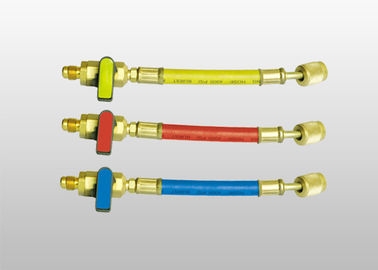 Durable Manifold Gauge Set R410A 800PSI Refrigerant Charging Hose