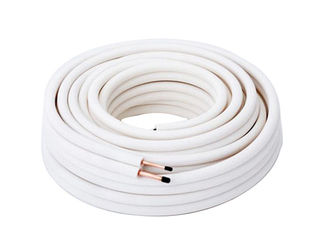 White 1 2 Copper Refrigeration Tubing Roll For Air Conditioner Drainage