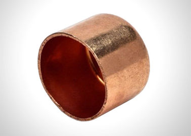 China Wrought Copper Pipe End Cap Plumbing / HVAC Copper Pipe Fittings 32Mpa Pressure factory