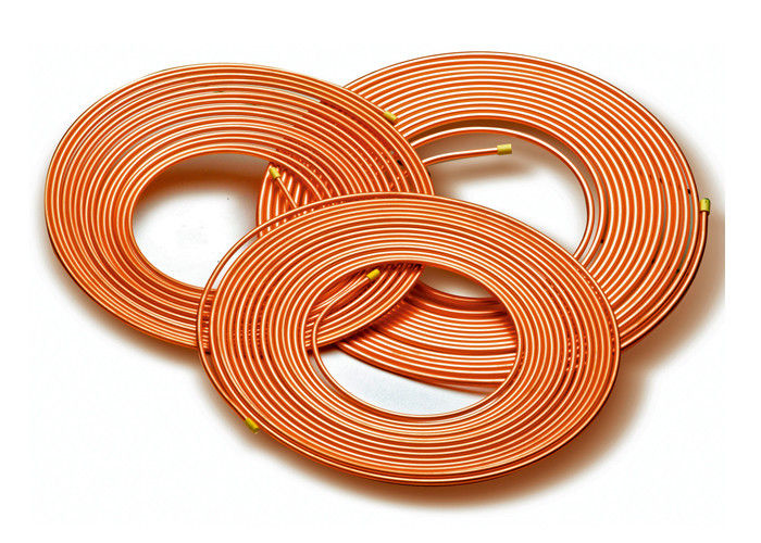 Soft Type Pancake Coil Copper Refrigeration Tubing15-50m Length JISH3300 Standard supplier
