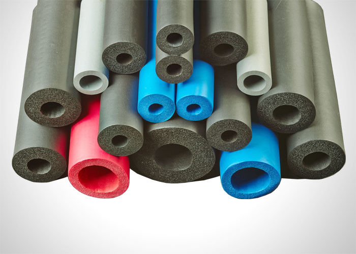 Multi Color Air Conditioner Pipe Insulation 6-89mm Inner Diameter Alkali Resistant supplier