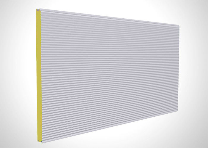 Structural Polyurethane Foam Sandwich Panels , Polyurethane Cold Room Panels supplier