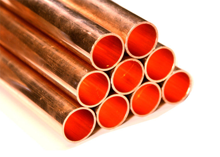 0.28-5mm Wall Thick Copper Water Tube , Gas Copper Tubing C1220 SF-Cu C12000 supplier