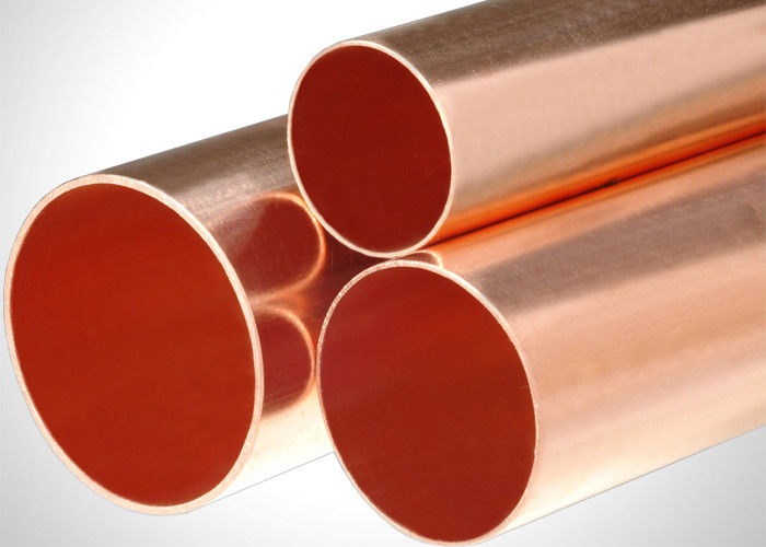 Multi Standard Type M Copper Pipe Plumbing Copper Tubing Recyclable 3-6m Length supplier
