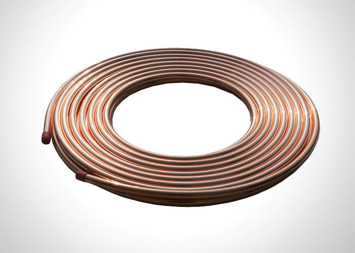 "5/8"" Copper Refrigeration Tubing  Soft Annealed Pancake Copper Pipe Coil supplier"