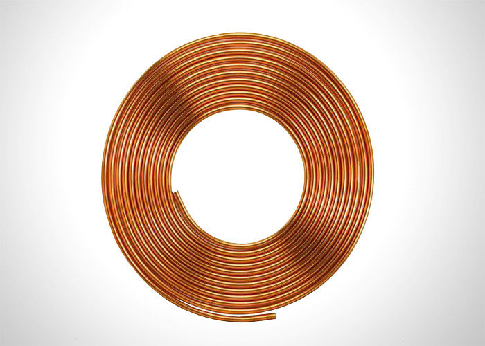 Anticorrosive 5 8 Refrigeration Copper Tubing Soft Pancake Coil Type 15.88mm supplier