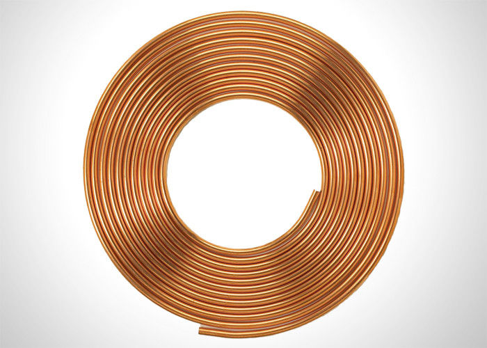 C1220 SF-Cu C12000 3 4 Copper Refrigeration Tubing Coil For Liquid Fed supplier