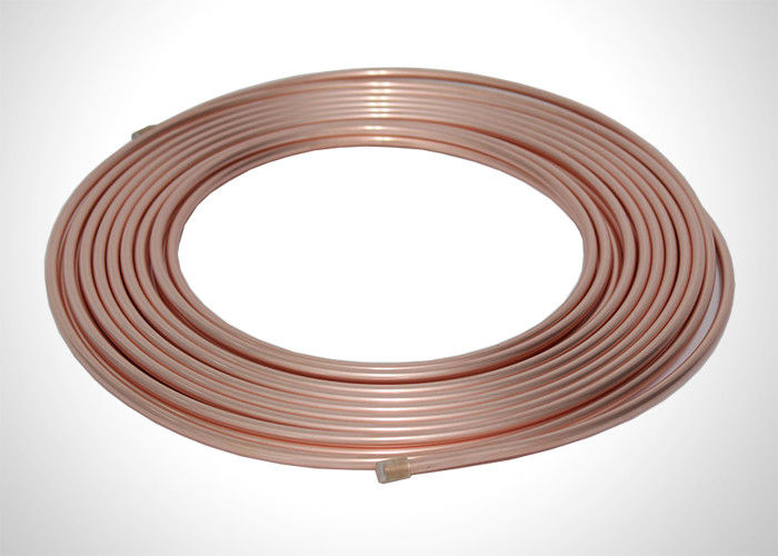 "1/4"" Copper Refrigeration Tubing Soft Pancake Coil Refrigeration Copper Tubing supplier"
