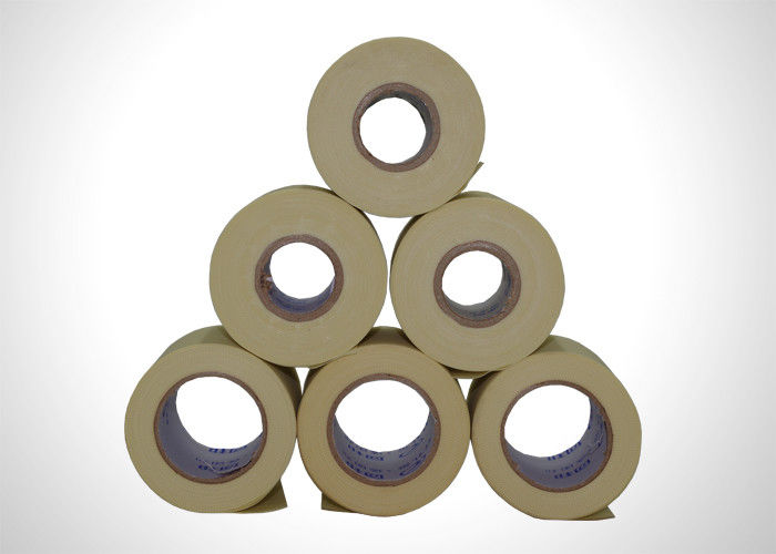 Beige PVC Air Conditioner Insulation Tape , Air Conditioner Sealing Tape 0.09mm supplier