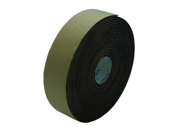 Close Cell Adhesive Backed Rubber Foam Insulation Tape For A/C And Plumbing supplier