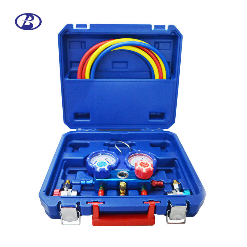 R134A Manifold Gauge Set For Automotive Air Conditioner With Quick Fit supplier