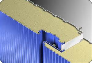 Impermeability Polyurethane Sandwich Panels For Structural Building Flame Resistance